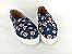 Tênis Slip On Pet Cachorrinho Azul em Têxtil Estampado - Imagem 5