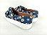 Tênis Slip On Pet Cachorrinho Azul em Têxtil Estampado - Imagem 4
