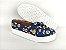 Tênis Slip On Pet Cachorrinho Azul em Têxtil Estampado - Imagem 3