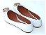 Sapatilha Branca Com Acessório Bico Fino - Imagem 3