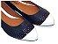 Sapatilha Azul Marinho Com Preto/Branco - Imagem 1