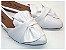 Mule Branco Com Laço Bico Fino - 3 Pares por 99,90 - Imagem 1