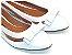 Sapatilha Branca E Transparente Com Laço Pequeno - Imagem 1
