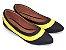 Sapatilha Preta Com Amarelo Bico Fino - Imagem 2