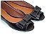 Peep Toe Preta com Laço - Imagem 1
