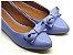 Sapatilha Azul Fosca com Laço - Imagem 1