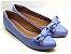 Sapatilha Azul Fosca com Laço - Imagem 2