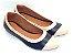 Sapatilha Lisa Azul com Rose - Imagem 2