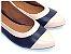 Sapatilha Lisa Azul com Rose - Imagem 1