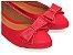 Sapatilha Vermelha com Laço Médio - Imagem 1