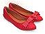 Sapatilha Vermelha com Laço Médio - Imagem 2