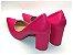 Scarpin Rosa Pink Salto Grosso - Imagem 2