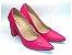 Scarpin Rosa Pink Salto Grosso - Imagem 1