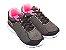 Tênis Sport Cinza com Rosa - Imagem 2