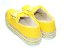 Tênis Amarelo em Tecido Flatform em Cortiça - Imagem 4