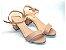 Sandália Nude Básica com Tira Única - Linha Premium - Imagem 1