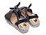Sandália Flatform Preta com Tiras Transversais - Imagem 2