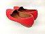 Sapatilha Vermelha em Verniz com Laço Bico Fino - Imagem 3