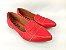 Sapatilha Vermelha em Verniz com Laço Bico Fino - Imagem 1