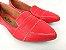Sapatilha Vermelha em Verniz com Laço Bico Fino - Imagem 2