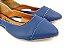 Sapatilha Azul Fosca com Abertura Lateral - Imagem 2