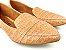 Sapatilha Slipper Nude Textura Croco - Imagem 1
