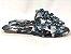 Rasteirinha com Lacinhos em Tecido Tie Dye Preto - 3 Pares por 99,90 - Imagem 5
