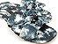 Rasteirinha com Lacinhos em Tecido Tie Dye Preto - 3 Pares por 99,90 - Imagem 4