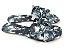 Rasteirinha com Lacinhos em Tecido Tie Dye Preto - 3 Pares por 99,90 - Imagem 1