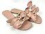 Rasteirinha com Lacinhos em Tecido Nude - 3 Pares por 99,90 - Imagem 3