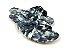 Rasteirinha Nozinho em Tecido Tie Dye Preto - 3 Pares por 99,90 - Imagem 2