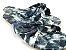 Rasteirinha Nozinho em Tecido Tie Dye Preto - 3 Pares por 99,90 - Imagem 3