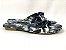 Rasteirinha Nozinho em Tecido Tie Dye Preto - 3 Pares por 99,90 - Imagem 4