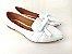 Sapatilha Slipper Branca com Lacinho - Imagem 1