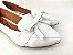 Sapatilha Slipper Branca com Lacinho - Imagem 3