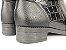 Bota Cano Curto com Lateral Croco Preta - Imagem 9