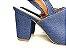 Sandália Aberta Jeans Salto 8 cm Chanel - Imagem 3