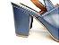 Sandália Aberta Azul Marinho Salto 8 cm Chanel - Imagem 3