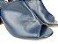 Sandália Aberta Azul Marinho Salto 8 cm Chanel - Imagem 4