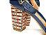 Sandália Azul Marinho com Vermelho Salto Colorido 7 cm - Imagem 3