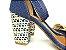 Sandália Jeans com Tramado Salto 7 cm - Imagem 3