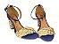 Sandália Jeans com Tramado Salto 7 cm - Imagem 7