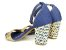 Sandália Jeans com Tramado Salto 7 cm - Imagem 6