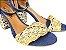 Sandália Jeans com Tramado Salto 7 cm - Imagem 4