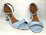 Sandália Azul Bebê em Verniz Salto 5 cm - Imagem 2