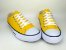 Tênis Casual Adulto Amarelo Lona - Imagem 2