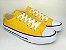 Tênis Casual Adulto Amarelo Lona - Imagem 4