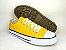 Tênis Casual Adulto Amarelo Lona - Imagem 7