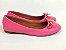 Sapatilha Rosa Pink com Pingente Bico Redondo - Imagem 5