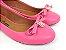 Sapatilha Rosa Pink com Pingente Bico Redondo - Imagem 1